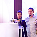 Milena Hrastnik in Dušan Franc Hrastnik (foto: Elle)