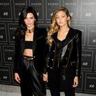 Zvezdnice že nosijo kolekcijo Balmain X H&M