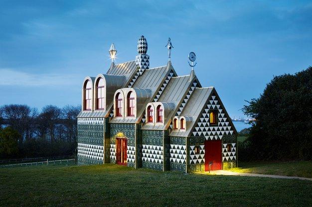 Počitniška hiša, v kateri boste zaživeli s sodobno umetnostjo - Foto: promocijsko gradivo