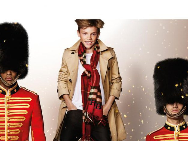 Mladi Beckham nadaljuje manekensko kariero, tokrat za Burberry - Foto: promocijski materijal