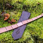 Slovenska lesena kravata z naravno modno vizijo