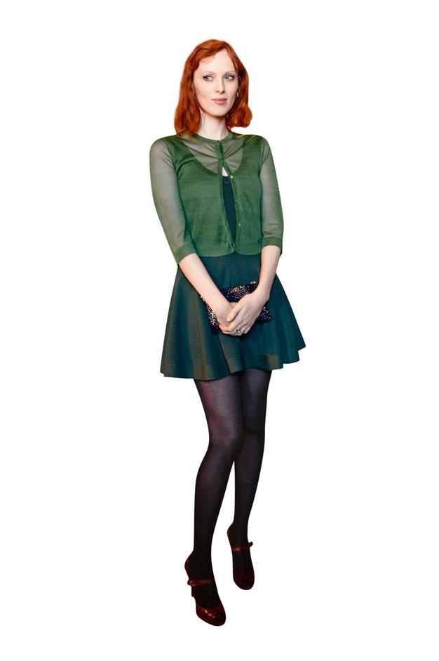 Zvezdniški modni navdih: Karen Elson