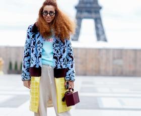 FOTO: Najnovejši utrinki ulične mode s pariškega tedna mode