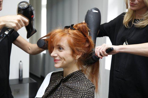 Mojca Mavec je odkrila izdelke za svoje sijoče lase - oglejte si rezultat - Foto: Mojca Mavec