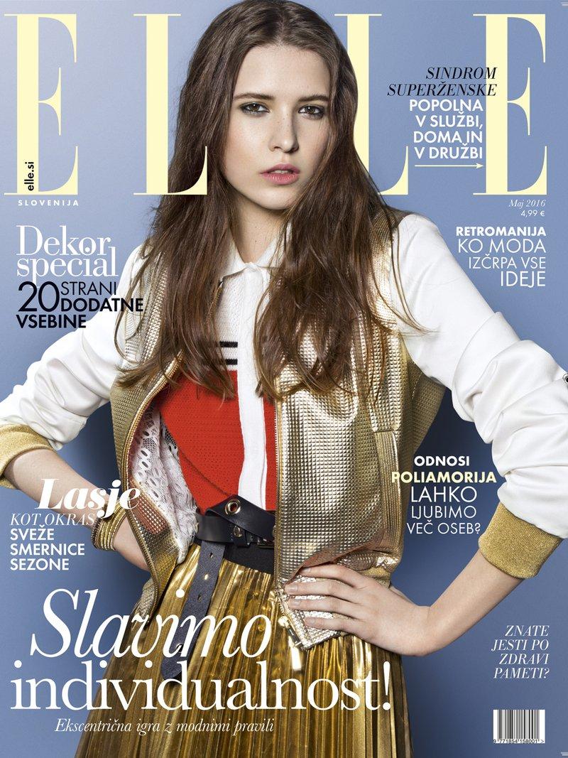 Naslovnica Elle julij