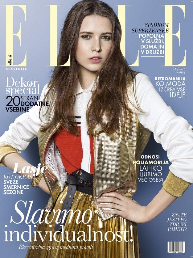 Kaj vas čaka v majski številki revije Elle? - Foto: Naslovnica Elle maj