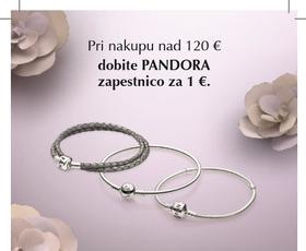 Odlična priložnost: PANDORA zapestnica za 1 evro
