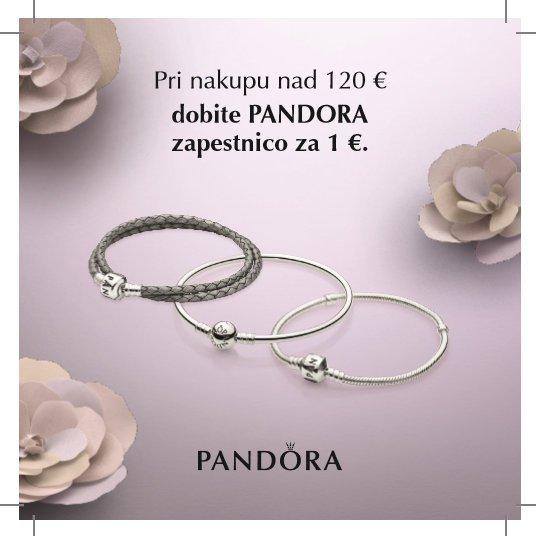 Odlična priložnost: PANDORA zapestnica za 1 evro - Foto: Pandora