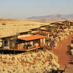 Sipinske hiške v naravnem rezervatu Namib, v Afriki. (foto: Profimedia)