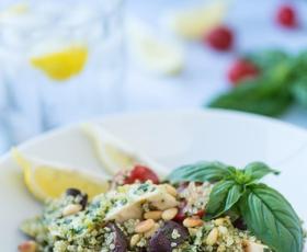 Elle recepti: Kvinojina solata s piščancem
