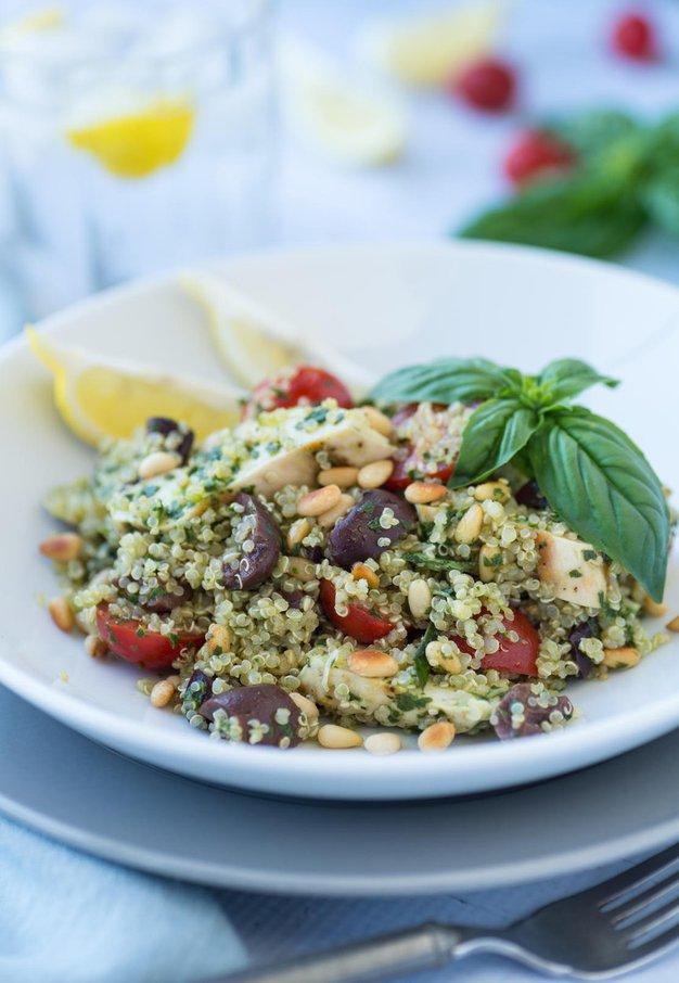 Kvinojina solata s piščancem - Foto: Profimedia