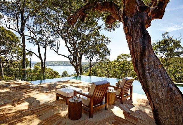 Pretty Beach House, Avstralija Skrita med krošnjami narodnega parka Bouddi, ima Pretty Beach House štiri razkošne paviljone, vsakega z izhodom ...