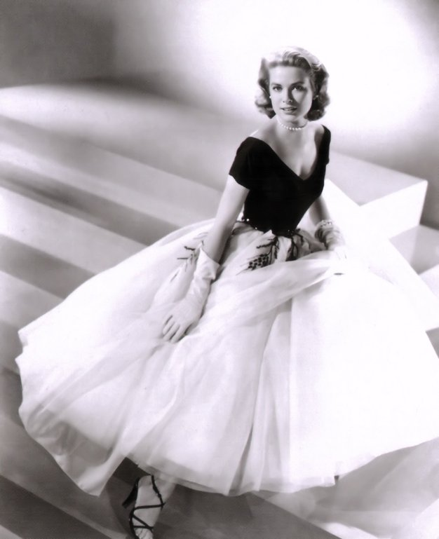 Modne ikone Po tutu krilu iz organce ali tila so vsaj enkrat v življenju posegle številne modne ikone. Grace Kelly …