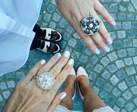 Trendi in modne manikure Tjaše Kokalj za poletje 2016