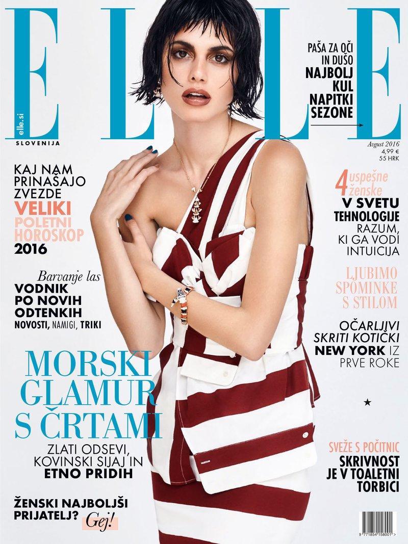 Naslovnica avgustovske Elle