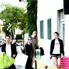 Zakulisje julijske modne zgodbe (foto: Matija Tomc in arhiv Elle)