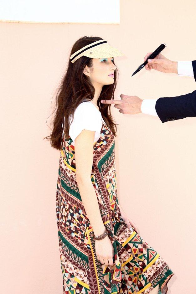 Zakulisje julijske modne zgodbe - Foto: Matija Tomc in arhiv Elle