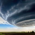 Supercelični nevihtni oblak. (foto: Marko Korošec, Lukas Gawenda, Ivan Kuznecov in promocijsko gradivo)
