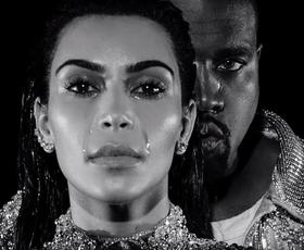 VIDEO: Kanye West v novem videospotu s Kim Kardashian »tuli z volkovi«