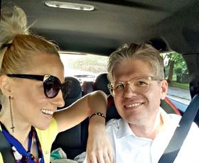 Matjaž in Nika Ambrožič (Urbas): Rada uživata sama