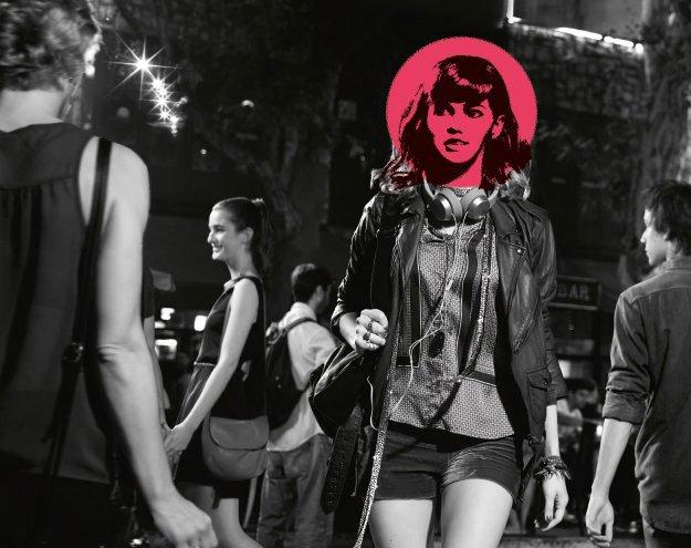 The Beatles, visoki škornji, Andy Warhol, črno črtalo za oči, krilo A-kroja in ...