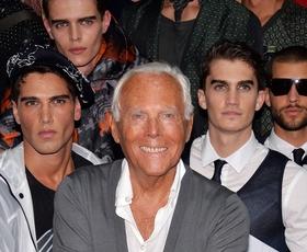 Intervju: Giorgio Armani o modi, filmu in družini