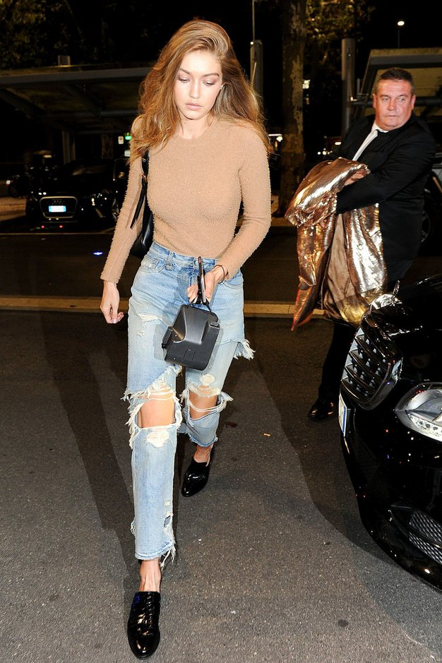Spoznajte modni slog Gigi Hadid! Presenečeni boste ...