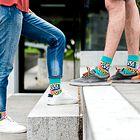 Nosila bi jih tudi Pika Nogavička :) !