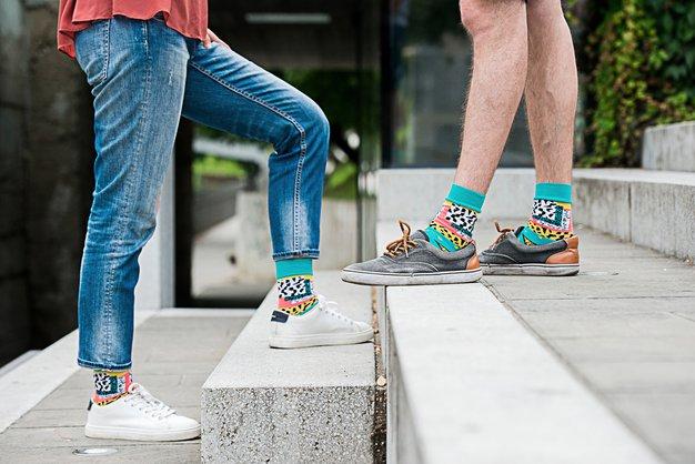 Nosila bi jih tudi Pika Nogavička :) ! - Foto: Mankica Kranjec