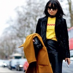 Novi trend: Kultne DHL majice = statusni simbol v modni industriji (foto: PrtSc Instagram @margaret_zhang)