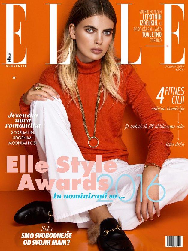 Novembrska Elle vas bo (zopet) navdihnila s pozitivnostjo in vam dala občutek, da ... - Foto: Miloš Nadaždin