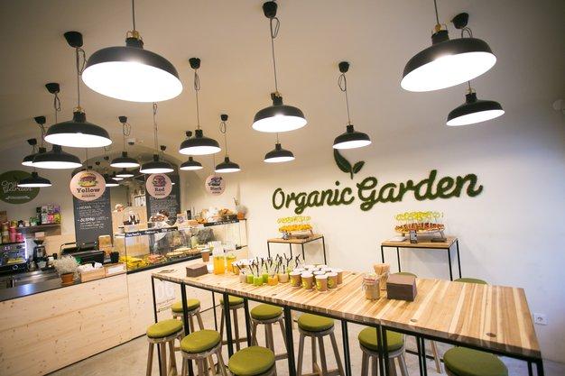 Organic Garden v Ljubljani odprl prvo poslovalnico - Foto: Matjaž Tavčar