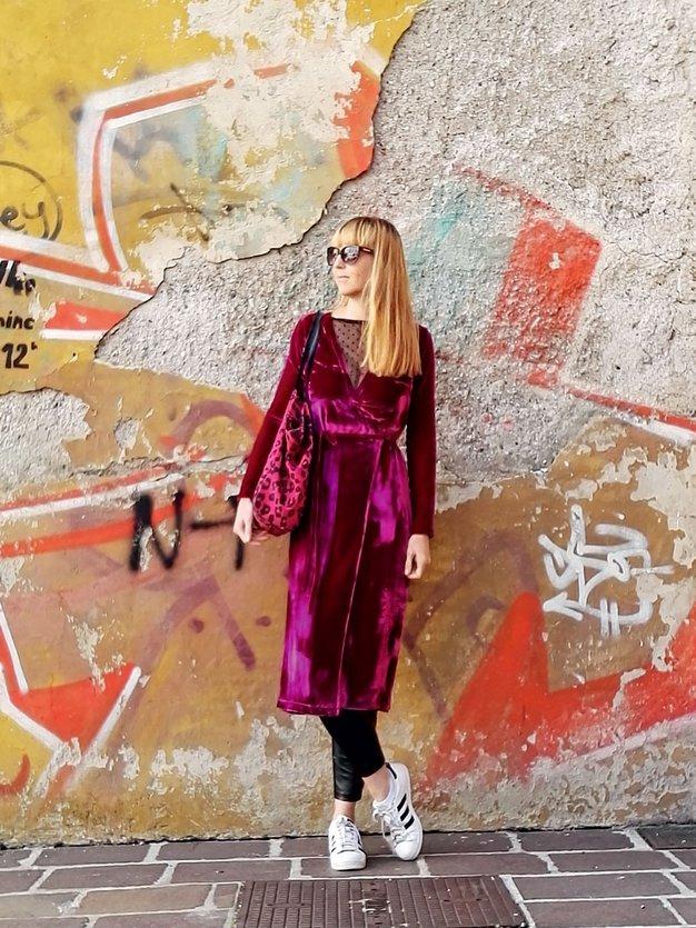 """""""Tudi žametni vzorci so vredni, da jih vključite v zimsko garderobo"""" (zapiski modne urednice) - Foto: Windschnurer"""