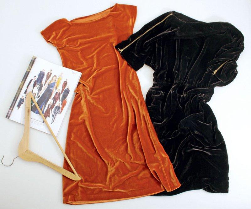 Žametna obleka