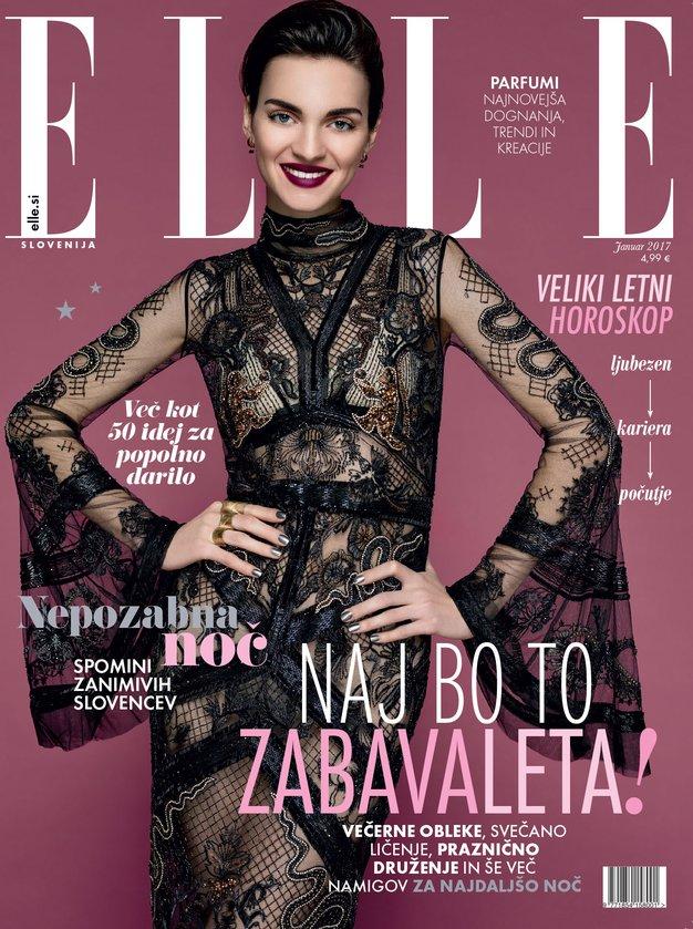 """Nova, januarska Elle vam kliče """"Vse dobro v 2017""""!"""