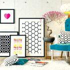 Poglejte, kako domiselno v svoj dom vpeljati umetnost!