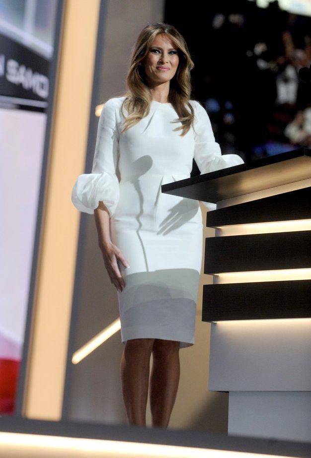 FOTO: Melania Trump, prva dama Amerike že narekuje nove smernice