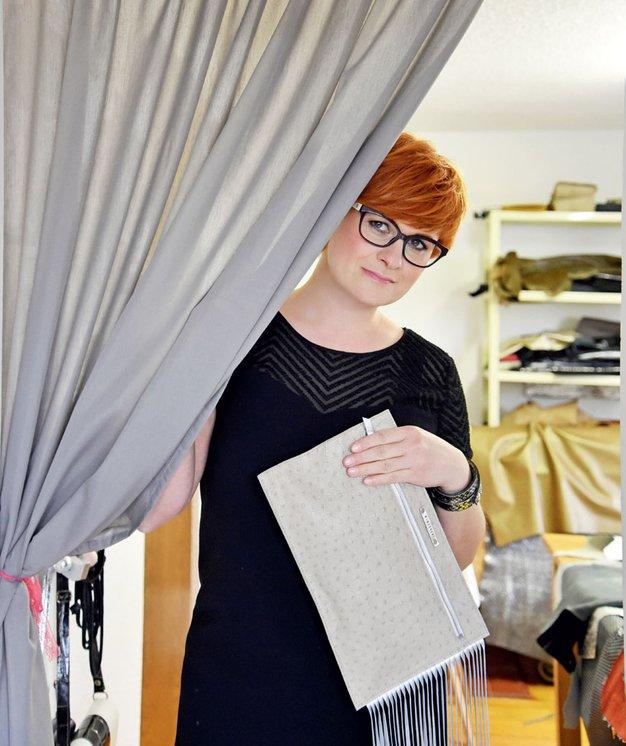 Nina Graabar: Usnje in modne dodatke je združila v popolno harmonijo - Foto: Osebni arhiv