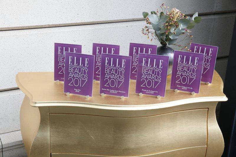 Nagrade Elle International Beauty Awards so prejele blagovne znamke, ki so prisotne tudi na slovenskem trgu.