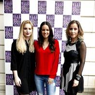 Ajda Sitar, Lea Filipovič in Maja Edelbaher Ebert, lepotne blogerke. (foto: Helena Kermelj)