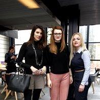 Ivana Petković Cvera, Karmela Horvat in Sofija Košćak, L'Oréal Adria. (foto: Helena Kermelj)
