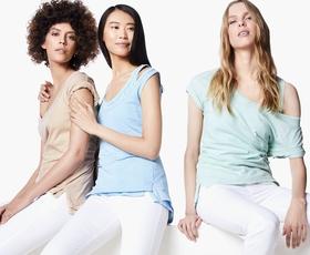 United Colors of Benetton: Kratka majica, barvana z mineralnimi barvami