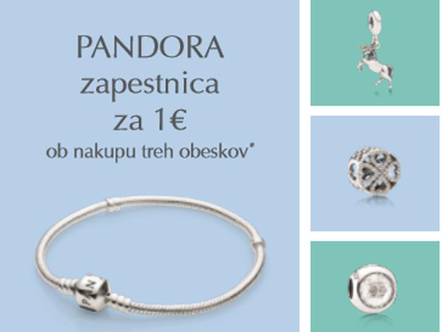 Zapestnica Pandora že za 1 euro - Foto: Promo