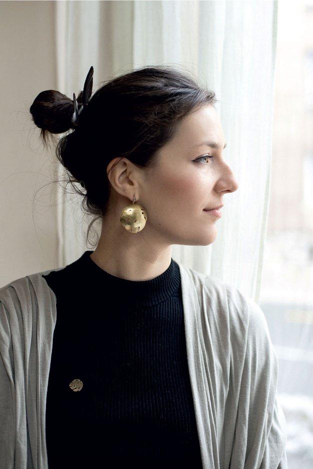 Neža Žehelj: Oblikovalka sodobnega in subtilnega nakita - Foto: Katja Goljat in osebni arhiv