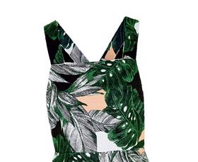 7 revolucionarnih modnih kosov s potiski zelenih rastlin
