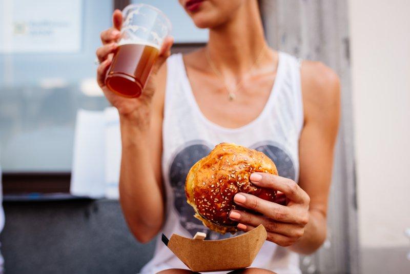 Pivo in Burger Fest