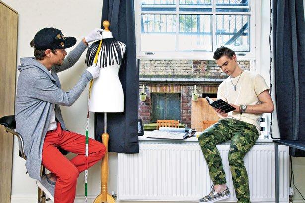Marjan Krnjič in Jožef Sraka: Velike priprave na šov v Londonu - Foto: Story press