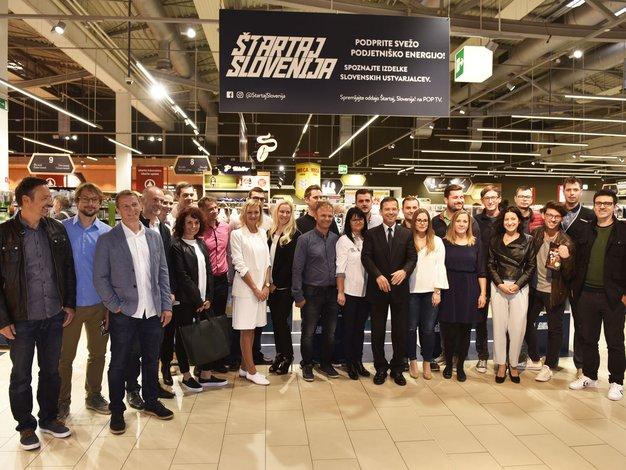 Fotogalerija: S svojimi izdelki so se predstavili podjetniki nove sezone Štartaj Slovenija! - Foto: Igor Zaplatil