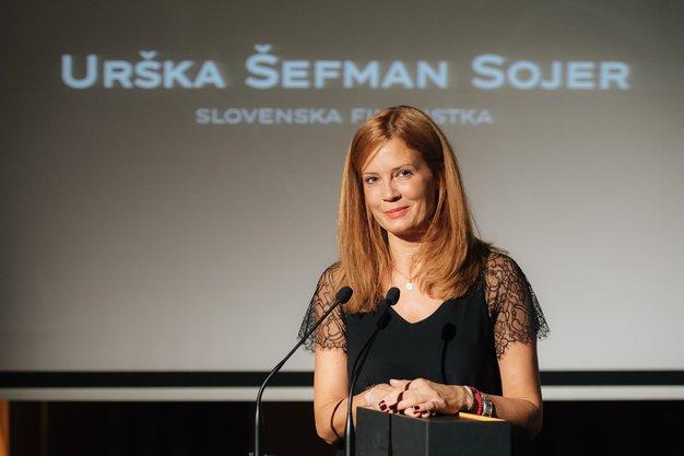 Urška Šefman Sojer je zmagovalka izbora Veuve Clicquot Business Woman Award - Foto: Nejc Pernek/Zvezda