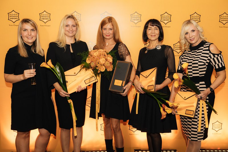 Letošnje nominiranke za nagrado Veuve Clicquot Business Woman Award